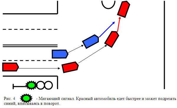 Причем, если там знаками или разметкой предусмотрено движение налево из двух полос, то будет виноват в этом ДТП...